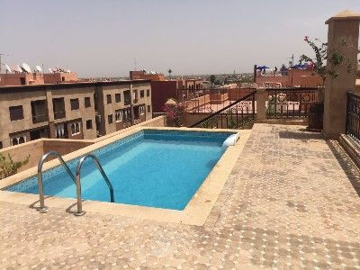 photo annonce Rent for holidays Apartment Gueliz Marrakech Morrocco